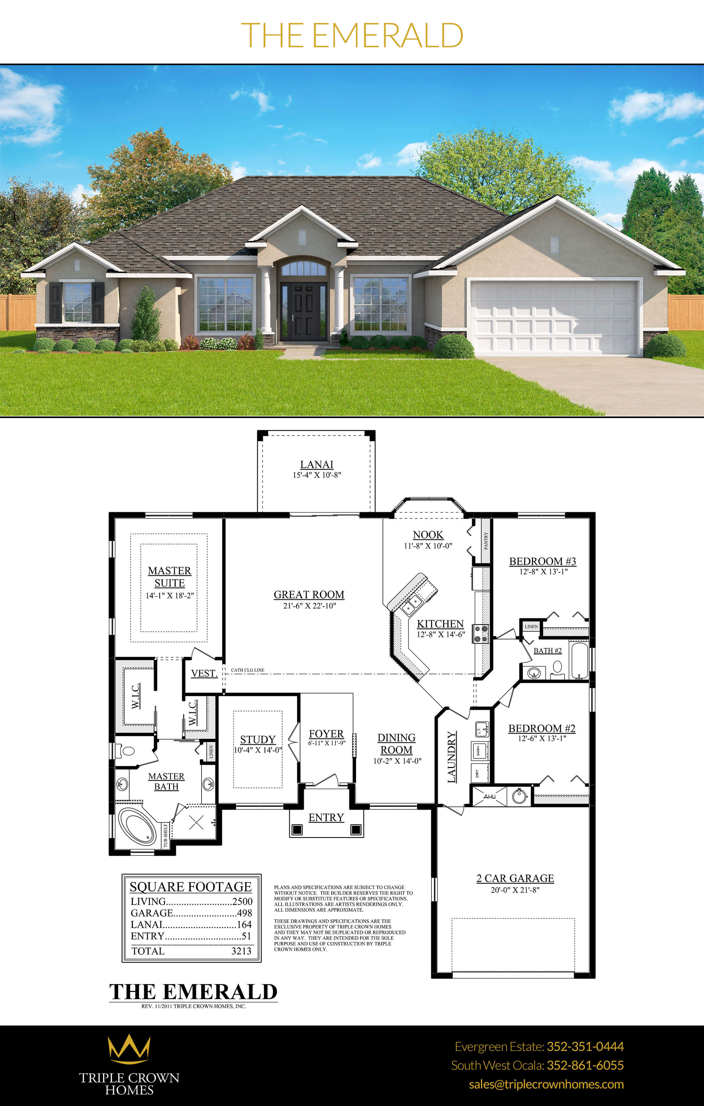 The Emerald Triple Crown Homes